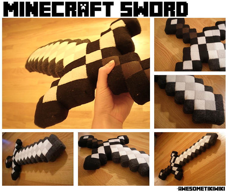 Amigurumi Ender Dragon : Minecraft Sword - Plush by AwesomeTikiWiki on DeviantArt