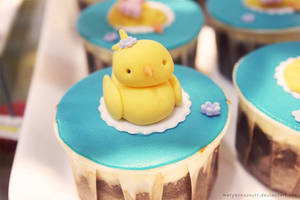 Quack-tastic Cupcakes! by maryannasaurr