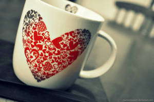 Cup of Hearts by maryannasaurr