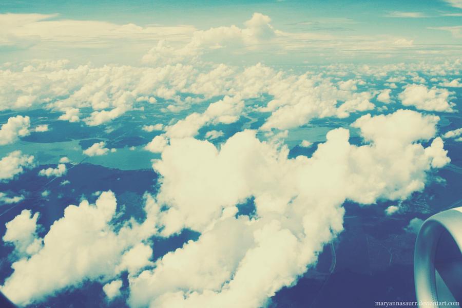 Sky Away by maryannasaurr