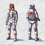 Spacesuit concept-art