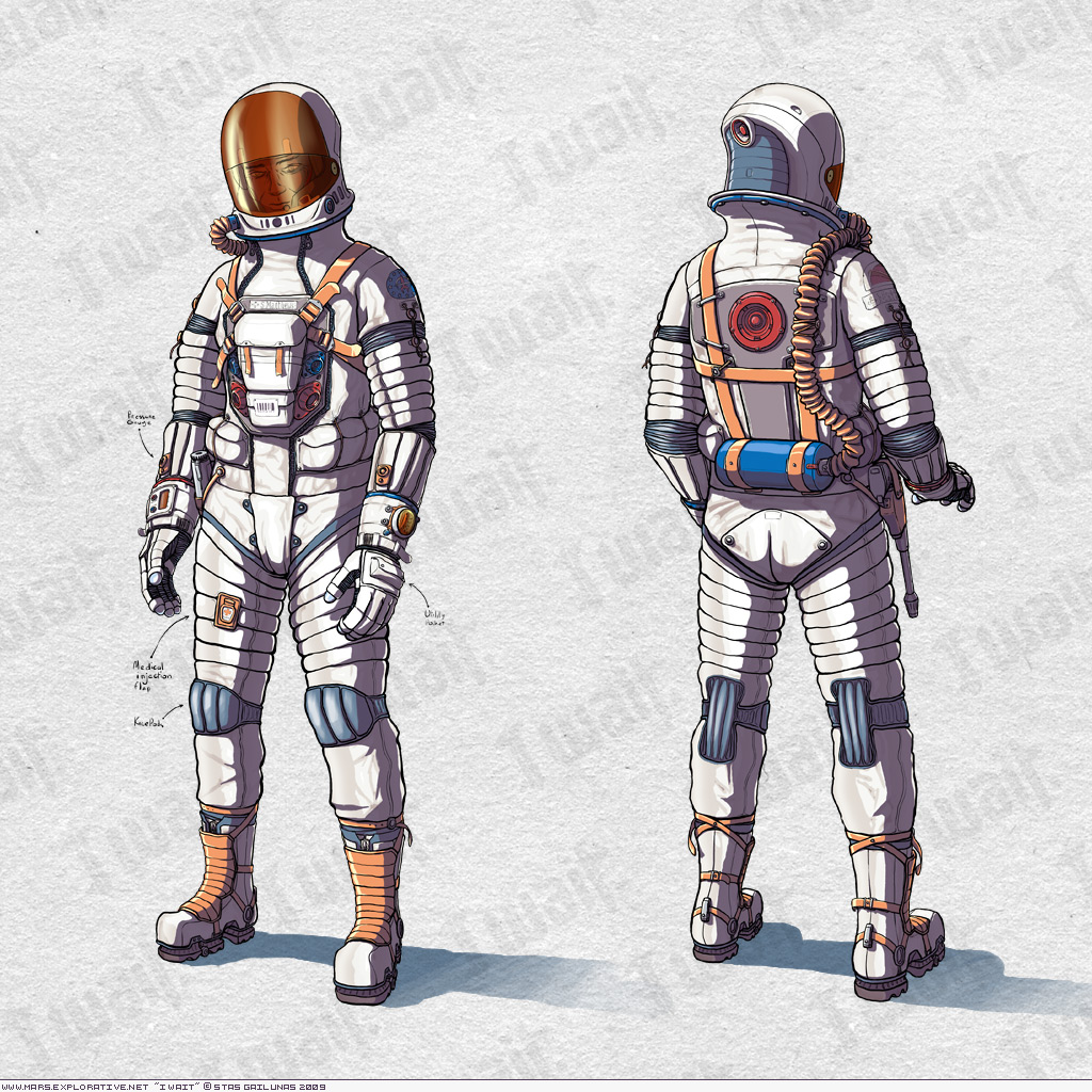 astronaut suit concept - photo #4