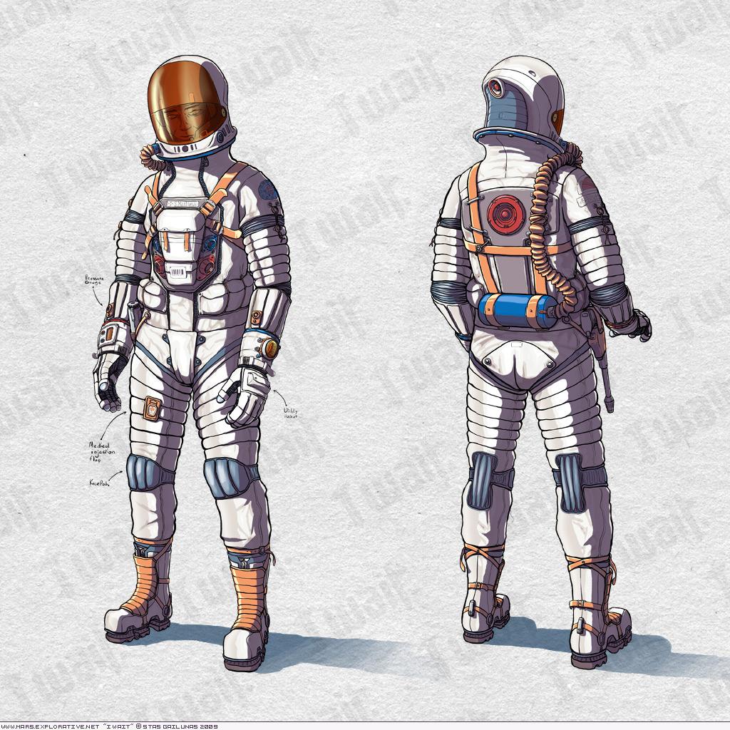 Spacesuit Concept-art By Orange-magik On DeviantArt