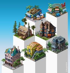 Various Buildings #3