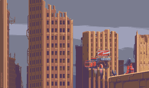 Cityscape by orange-magik