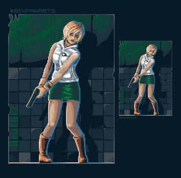 Heather from SH3 fanart