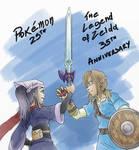 PKMN and LoZ Anniversary