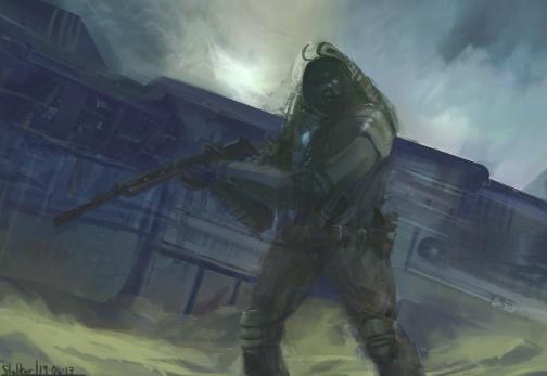 The Stalker by PrimordialSeven
