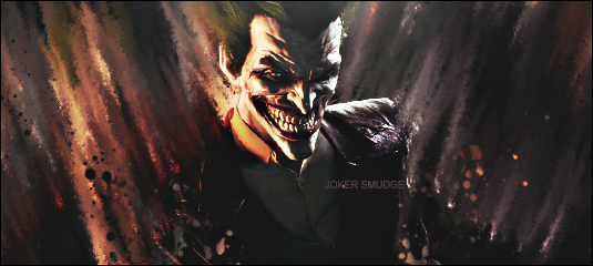 Joker Smudge by ghost189291