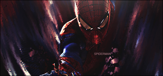 Spider man smudge signature by ghost189291