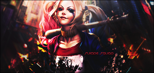 Suicide Squad signature by ghost189291