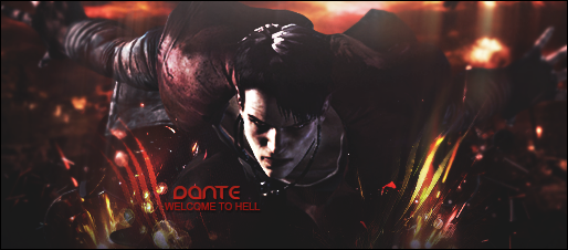 Dante: WELCOME TO HELL by ghost189291