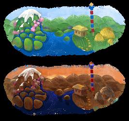 Weekly painting challenge: Google-doodle
