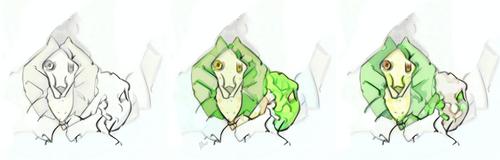 Frilled Caterpillar Concept