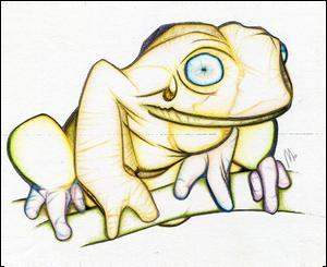 Happy Tree Frog