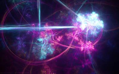 Neon Flowers by vortexdragon