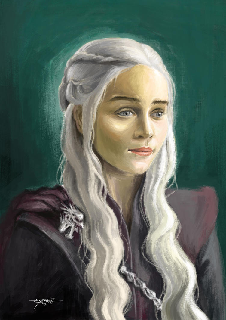 Mother of Dragons by craftigouschaktonomy