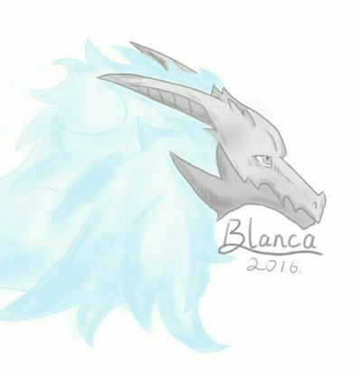 Blanca by BlancaTheSilverWolf