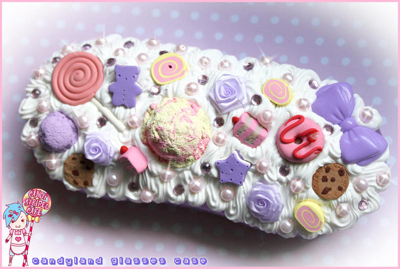 Deco Glases Case Commission by CandyStripedCafe