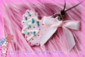 Sweet Iced Biscuit Charm by CandyStripedCafe