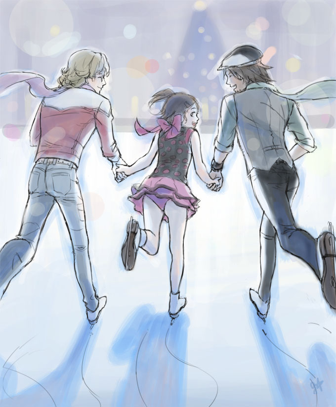 Ice skating by frogstarr on deviantart ice skating by frogstarr voltagebd Choice Image