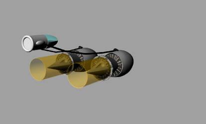 Podracer 3Q Rear by MechaFurre