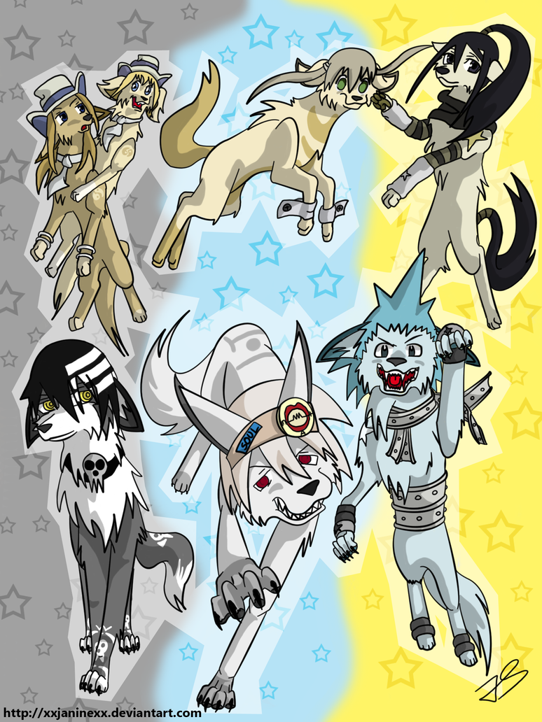 Soul Eater Videos/Pictures - Page 2 Soul_Eater_dogs_by_xxjaninexx