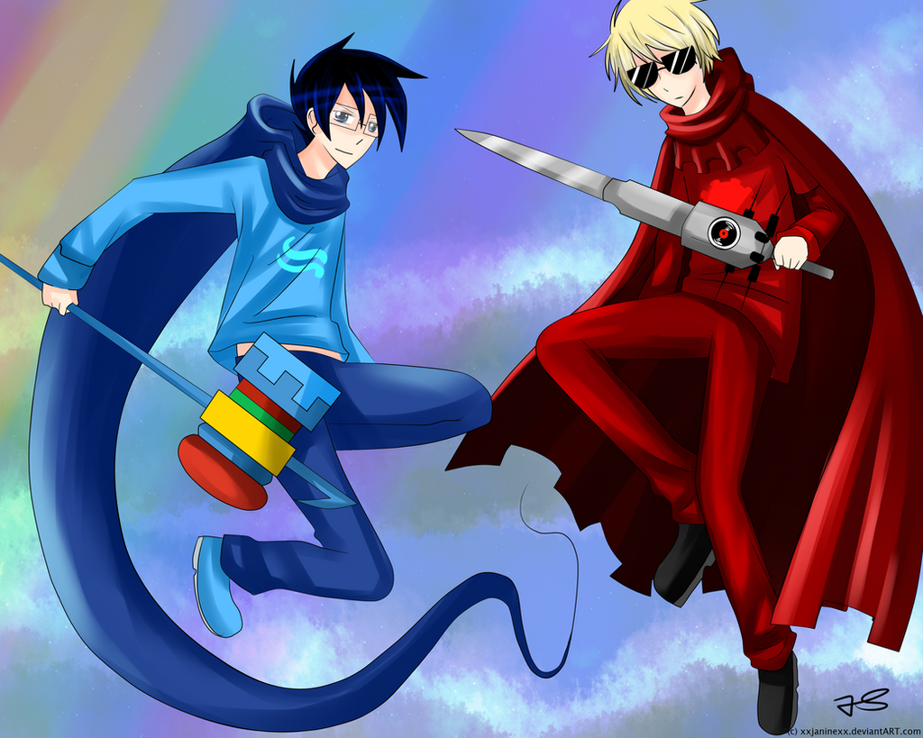 Homestuck Dave And John Yaoi