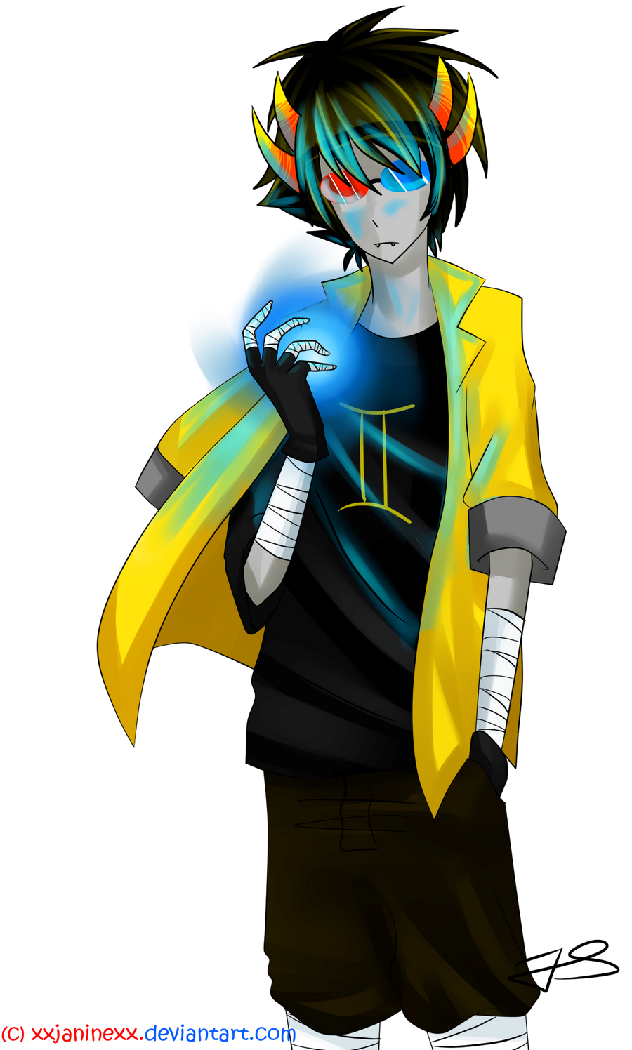 sollux captor by timelessknight on deviantart