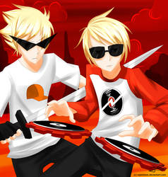 Dave and Dirk Strider by Timeless-Knight