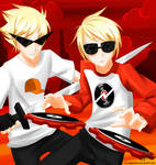 Dave and Dirk Strider