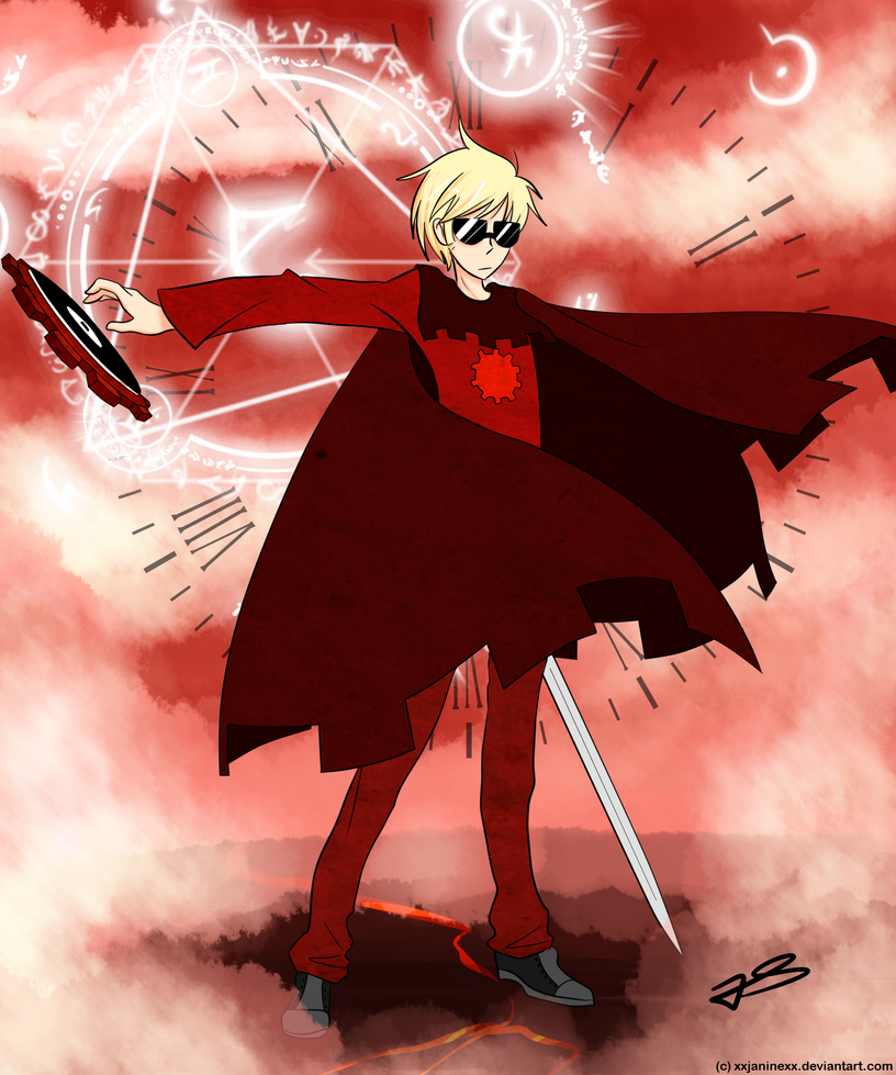 Dave Strider - God Tier by Timeless-Knight