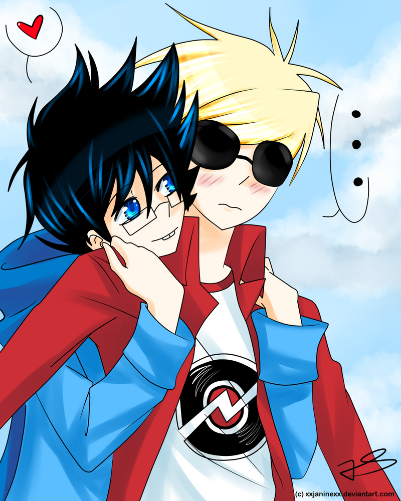 Dave Strider x John Egbert by Timeless-Knight