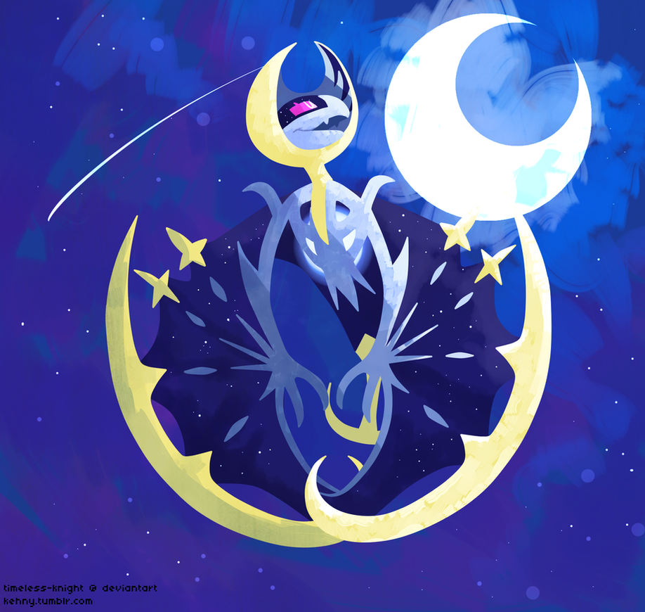 Lunala by Timeless-Knight