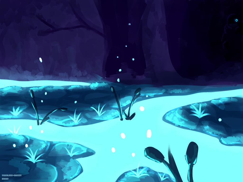 Waterfalls Undertale By Timeless Knight On Deviantart