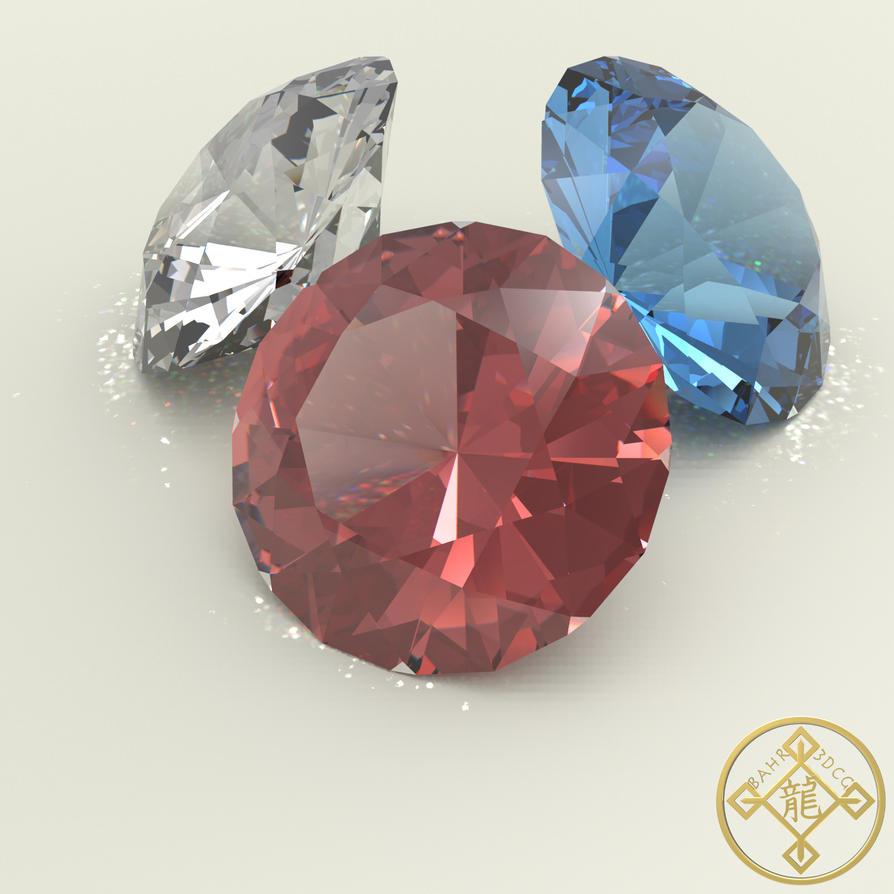 Caustic Series 3: Gemstone Set by Bahr3DCG