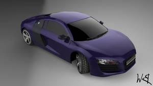 Audi R8 3D Model by Bahr3DCG