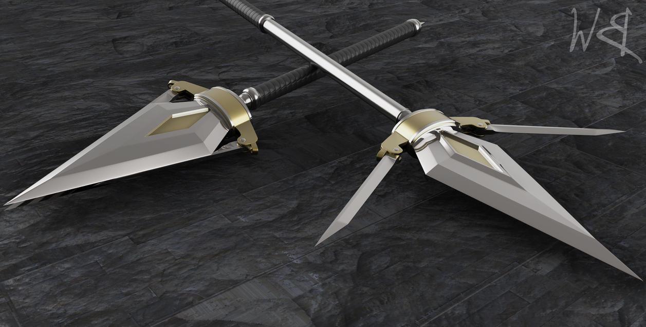 Yari Lance Concept by Bahr3DCG