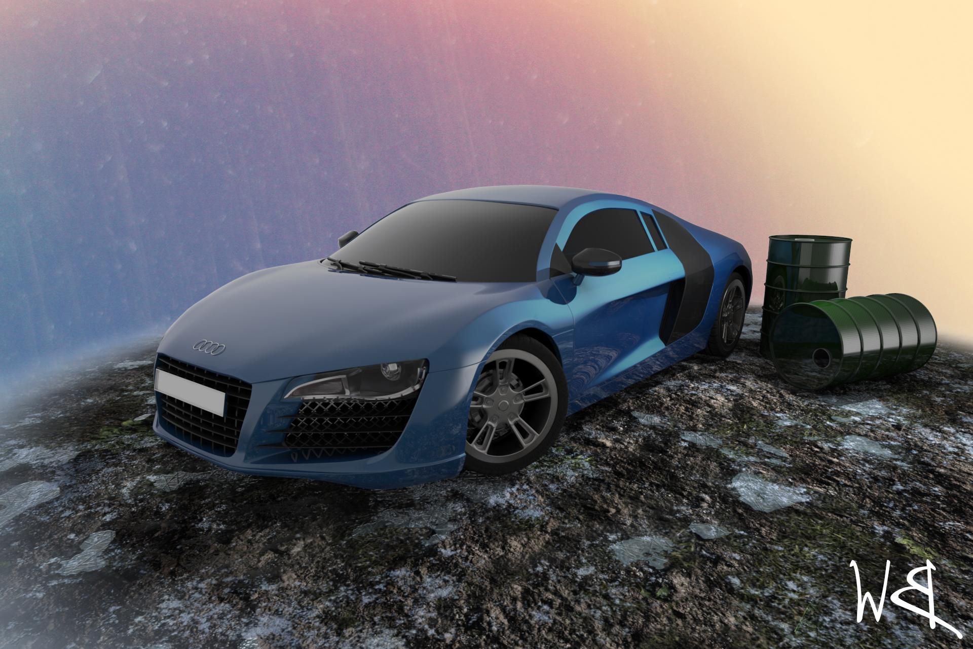 Audi R8 by Bahr3DCG