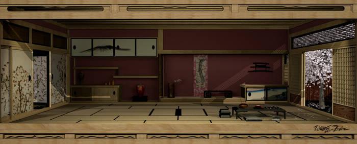 Japanese Interior 3D