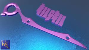 Harime Nui Scissor Blade by Bahr3DCG
