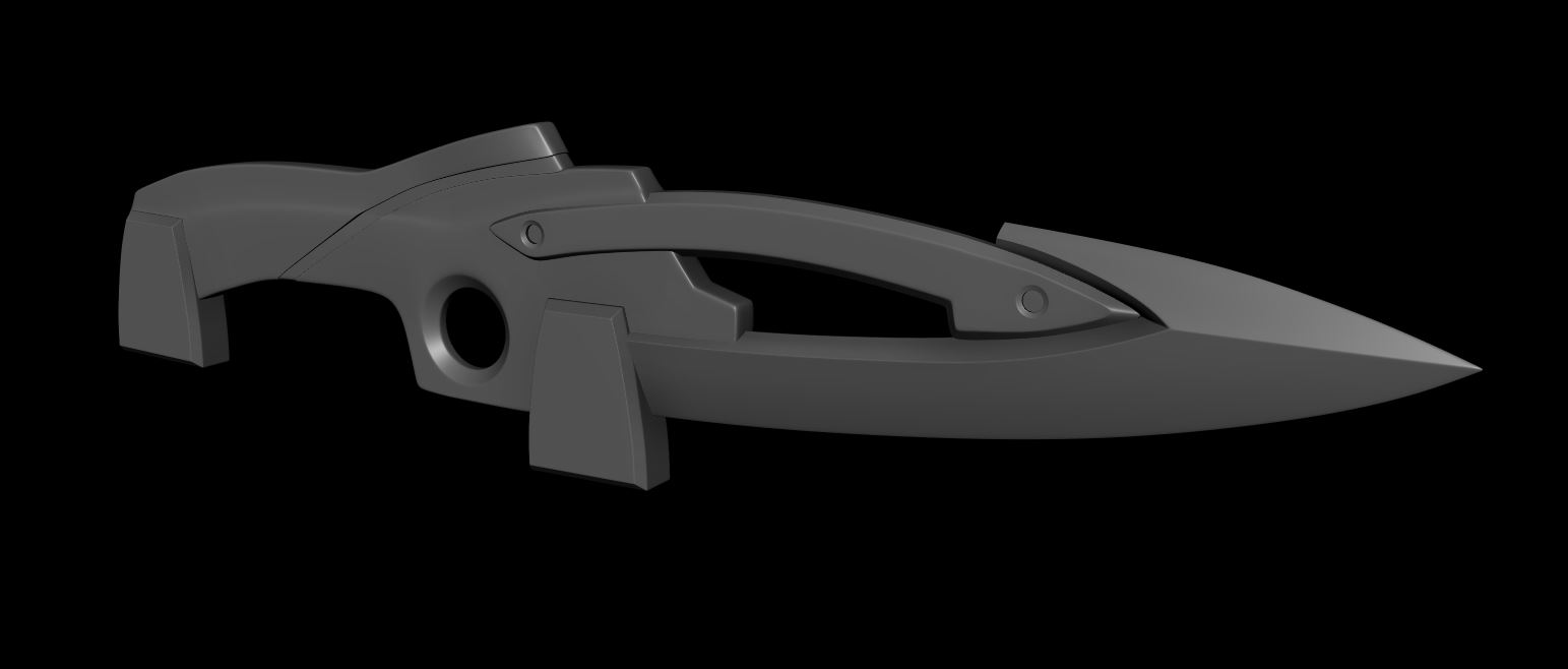 Eva Unit 01 High Frequency Dagger WIP1 by Bahr3DCG