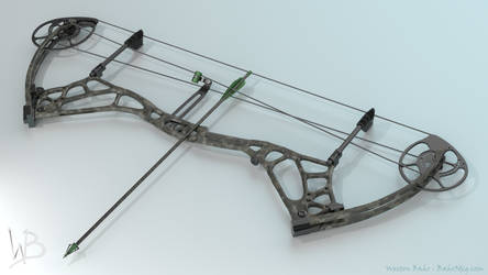 Agenda7 Compound Bow by Bahr3DCG