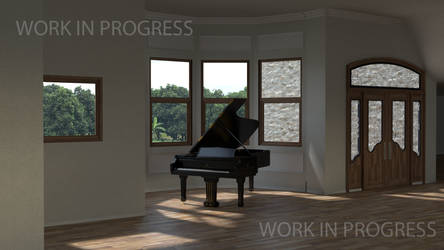 Interior Scene - WIP 8