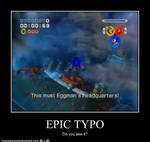Epic typo Motivational Poster