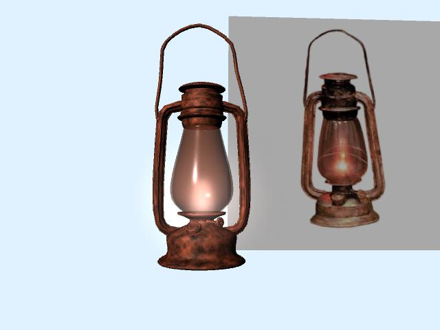 3d Old Oil Lamp By Clodiusen ...