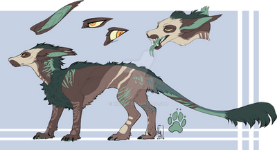 [Closed] Feral Vernid Adoptable Auction by Midnea