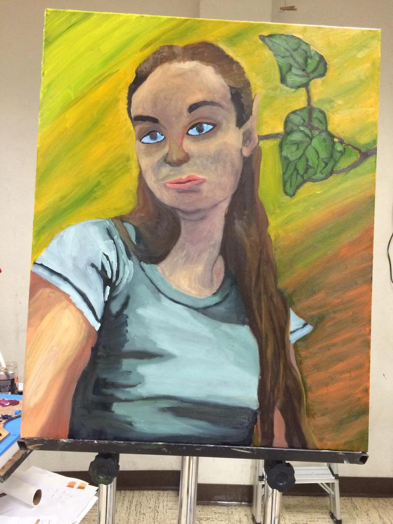 Self Portrait.  by SionnaDehr