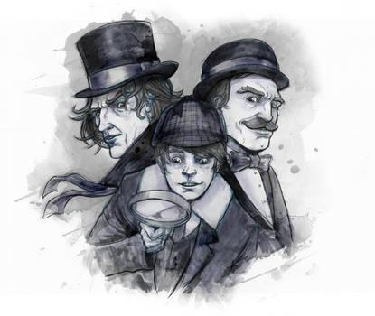 Sherlock 1 inks