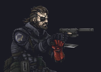 Big Boss - Sneaking Suit - Cropped